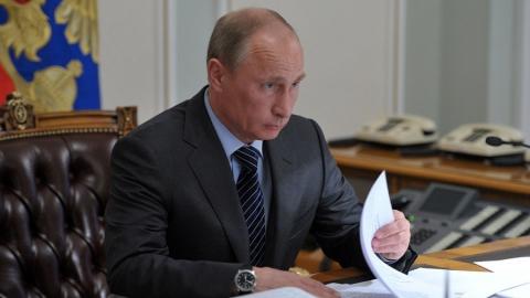 Путин «отменил» заседание саратовского антикоронавирусного штаба