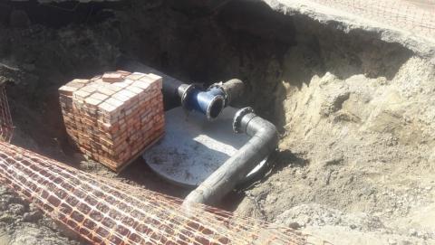 КВС завершает замену водопроводных сетей в районе Воробьевки