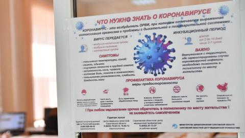 Коронавирус заподозрили у шести саратовских медиков