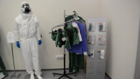 В Саратовскую область поступили противочумные костюмы