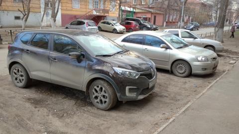 На Шевченко продолжается парад автохамов