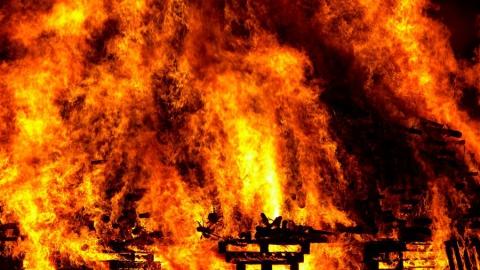 Количество пожаров в Саратовской области выросло в 2,3 раза