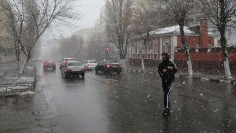 Саратовцев ждет новая гроза со снегом