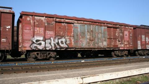 Саратовцы стали реже рисовать на поездах и разбивать камнями линзы светофоров