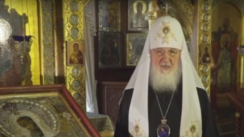 Патриарх Кирилл обратился к совершающим «подвиг уединения» прихожанам | ВИДЕО