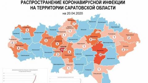 Коронавирус стремительно распространяется в Ершове и Балтайском районе