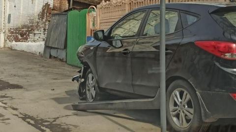 Две машины разбиты в Волжском районе
