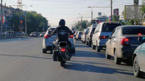 «Десятка» отправила мотоциклиста в больницу