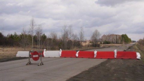 Балтайский район окружен блок-постами, началась выдача пропусков