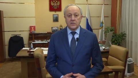 Валерий Радаев рассказал о резервной коронавирусной базе   ВИДЕО