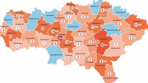 Коронавирус затронул почти все районы области