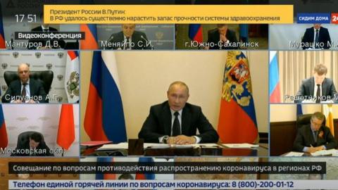 Владимир Путин приказал привлекать малый бизнес к борьбе с коронавирусом