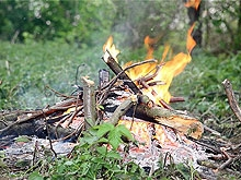 Подросток получил ожоги при разведении костра