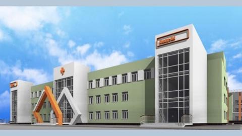 Опубликован эскизный проект новой саратовской инфекционной больницы