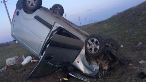 Авто опрокинулось в кювет, водитель погиб