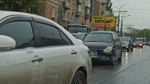 Проезд из Заводского в центр затруднён