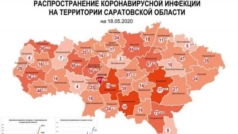 Вспышки коронавируса произошли в Саратове и в Новоузенске