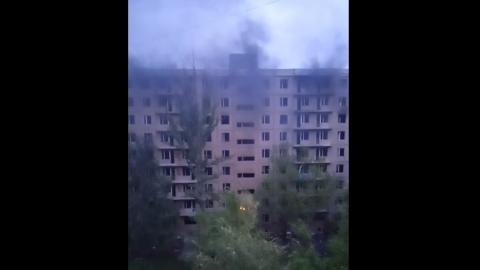 Пожар в Ленинском районе | ВИДЕО