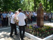 """В Саратове открыли памятник бывшему директору """"Тантала"""""""