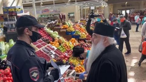 Саратовский митрополит попался полиции в ходе «коронавирусного» рейда