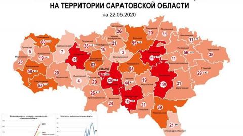 Вспышка коронавируса в Александрово-Гайском районе и стабильно быстрый прирост в Саратове