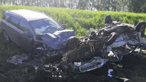 Два человека погибли при столкновении «девятки» с иномаркой