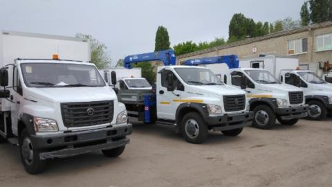 9 новых единиц спецтехники пополнили автопарк КВС