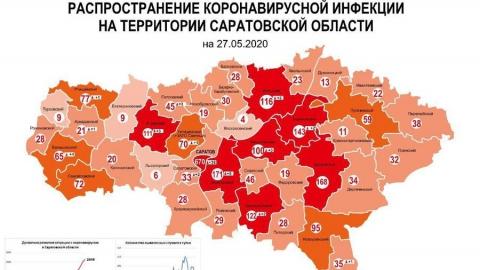 Марксовский район приблизился к рекордсменам по коронавирусу