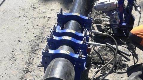 КВС построен новый водопровод по Вишневому проезду