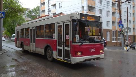 Два троллейбусных маршрута перестали ходить в Саратове
