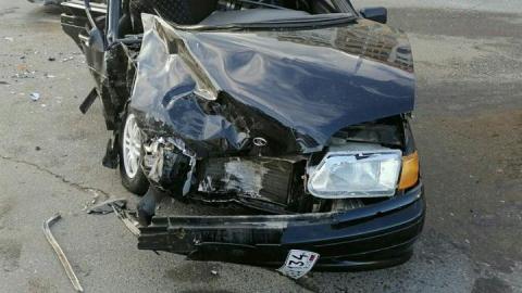 Пять человек пострадали в тройном ДТП у «Макдональдса»