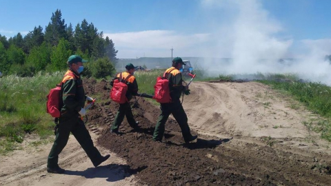 В области начался пожароопасный период