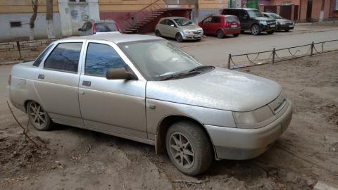 За парковку на газоне предложили штрафовать до пяти тысяч рублей