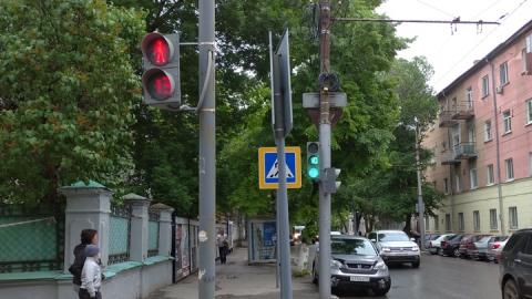 В центре Саратова сломались светофоры