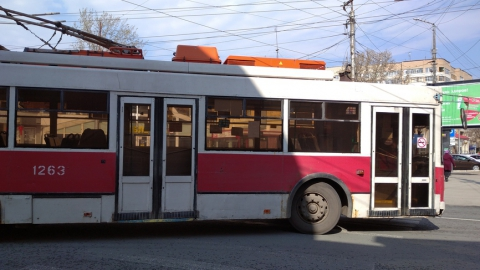 В Саратове не ходит троллейбус № 2