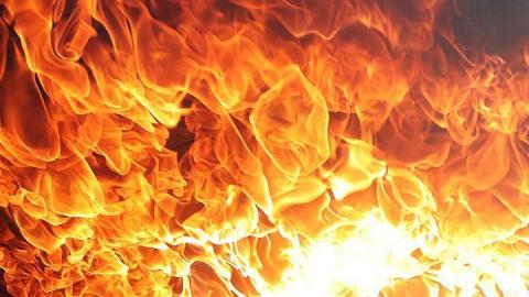 Ночью под Аткарском сгорел жилой дом