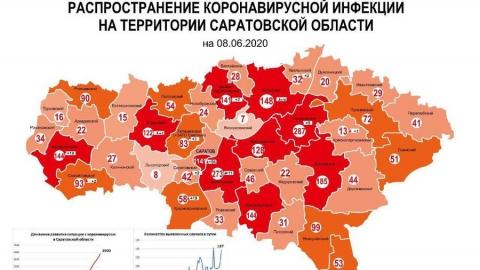 Почти 1150 зараженных коронавирусом в Саратове