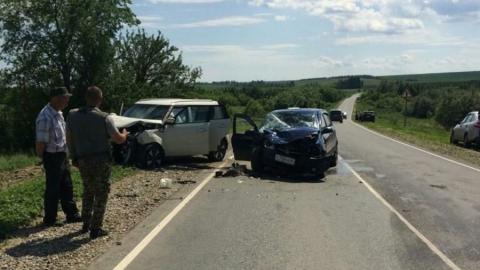 В Базарно-Карабулакском районе в ДТП погибла 90-летняя женщина