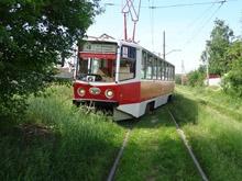 В Саратове трамвай №6 сошел с рельс