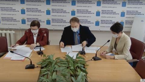 780 жителей Саратовской области страдают коронавирусной пневмонией