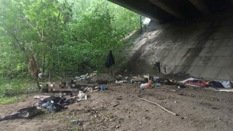 В Заводском районе под мостом до смерти избили женщину