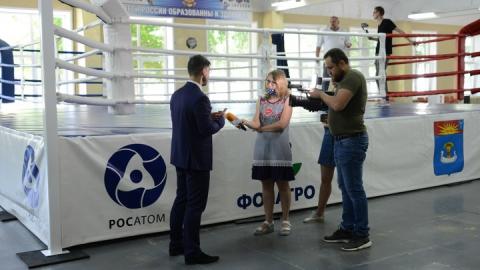 Балаковская АЭС подарила спортсменам города боксерский ринг международного класса