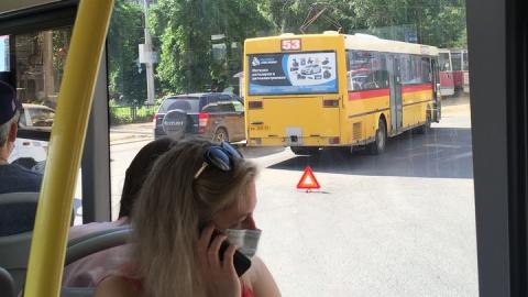 В Саратове автобус сбил пенсионера