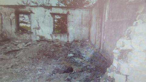 На пепелище спустя несколько дней нашли человеческие останки