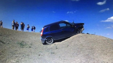 Водитель «Лады» погиб, съехав с дороги
