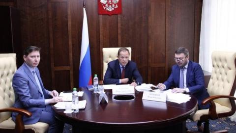Игорь Комаров обсудил подготовку к Общероссийскому голосованию с руководителями четырех регионов ПФО