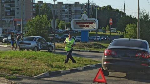 Въезд в Ленинский район затруднен из-за ДТП