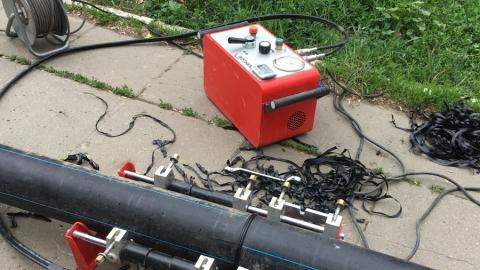 КВС выполнили аварийную замену участка водопровода