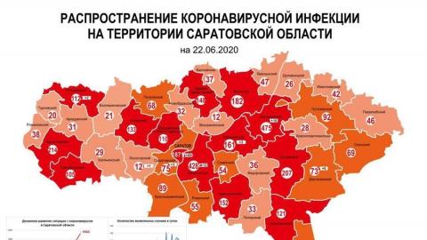 Почти 70 зараженных коронавирусом в Саратове и вспышка в Балакове