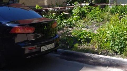 Жители Заводского сидят без воды из-за иномарки